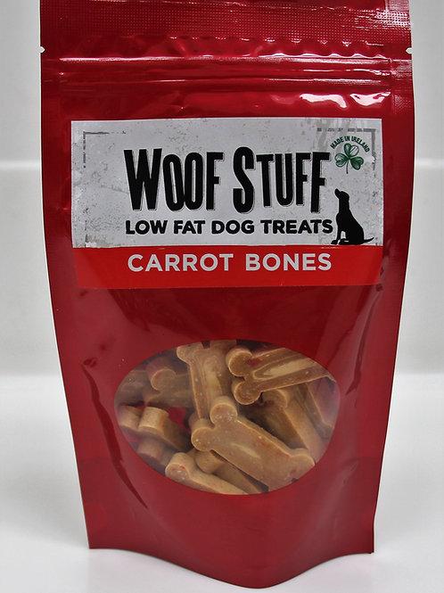 Carrot Bones Low Fat Dog Treats