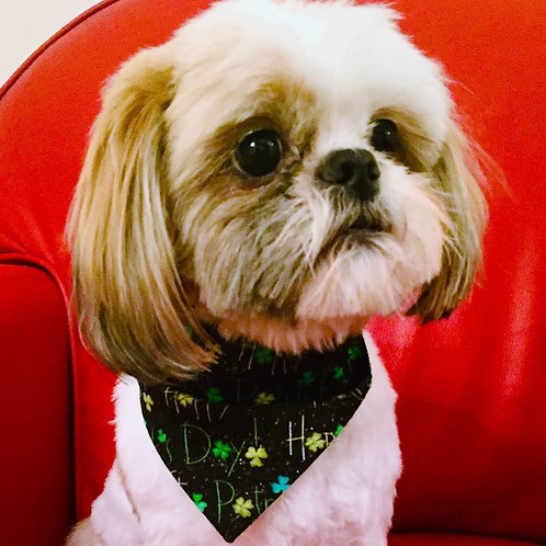 Dog Bandana St Patrick's Day by Woof Stuff Ireland