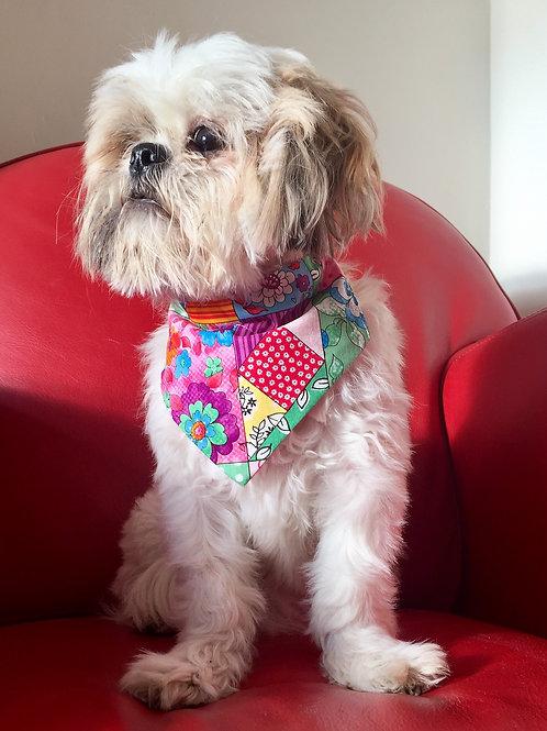 Dog Bandana Patchwork Chique by Woof Stuff