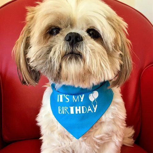 Dog Bandana, It's My Birthday by Woof Stuff