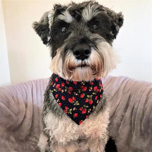 Dog Bandana Strawberry Delight by Woof Stuff Dublin Ireland