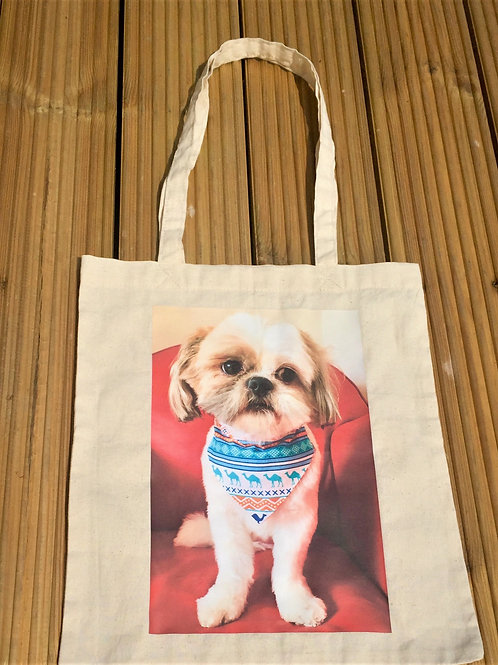 Personalized Pet Tote Bag