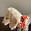 Thumbnail: Dog Dickie Bow Dotty for Orange by Woof Stuff Dublin Ireland