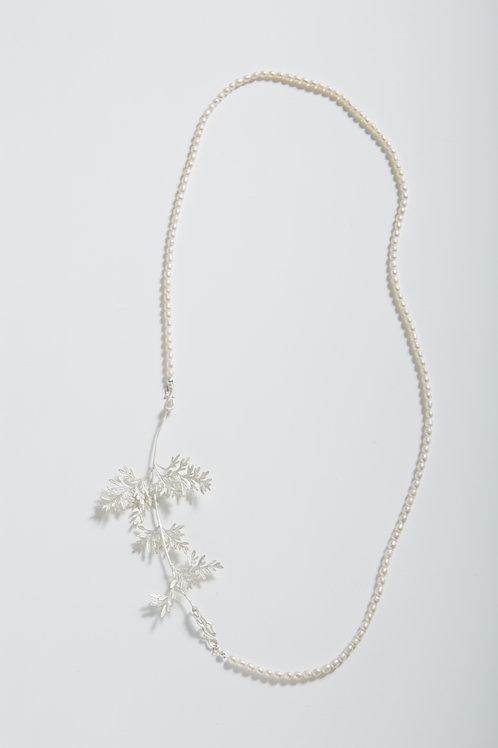 薰衣草珍珠項鍊