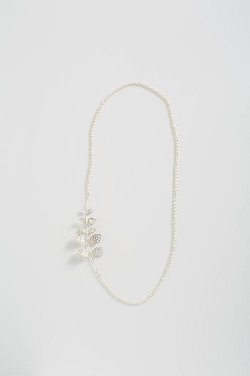 薄荷葉珍珠項鍊