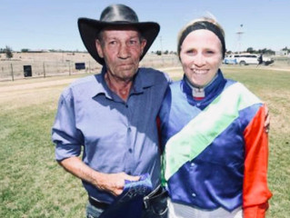 Peter & Ashleigh Win the Cotton Cup