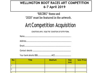 Wellington Boot Art Competition