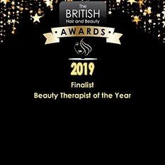 British Hair & Beauty Therapist of the Y