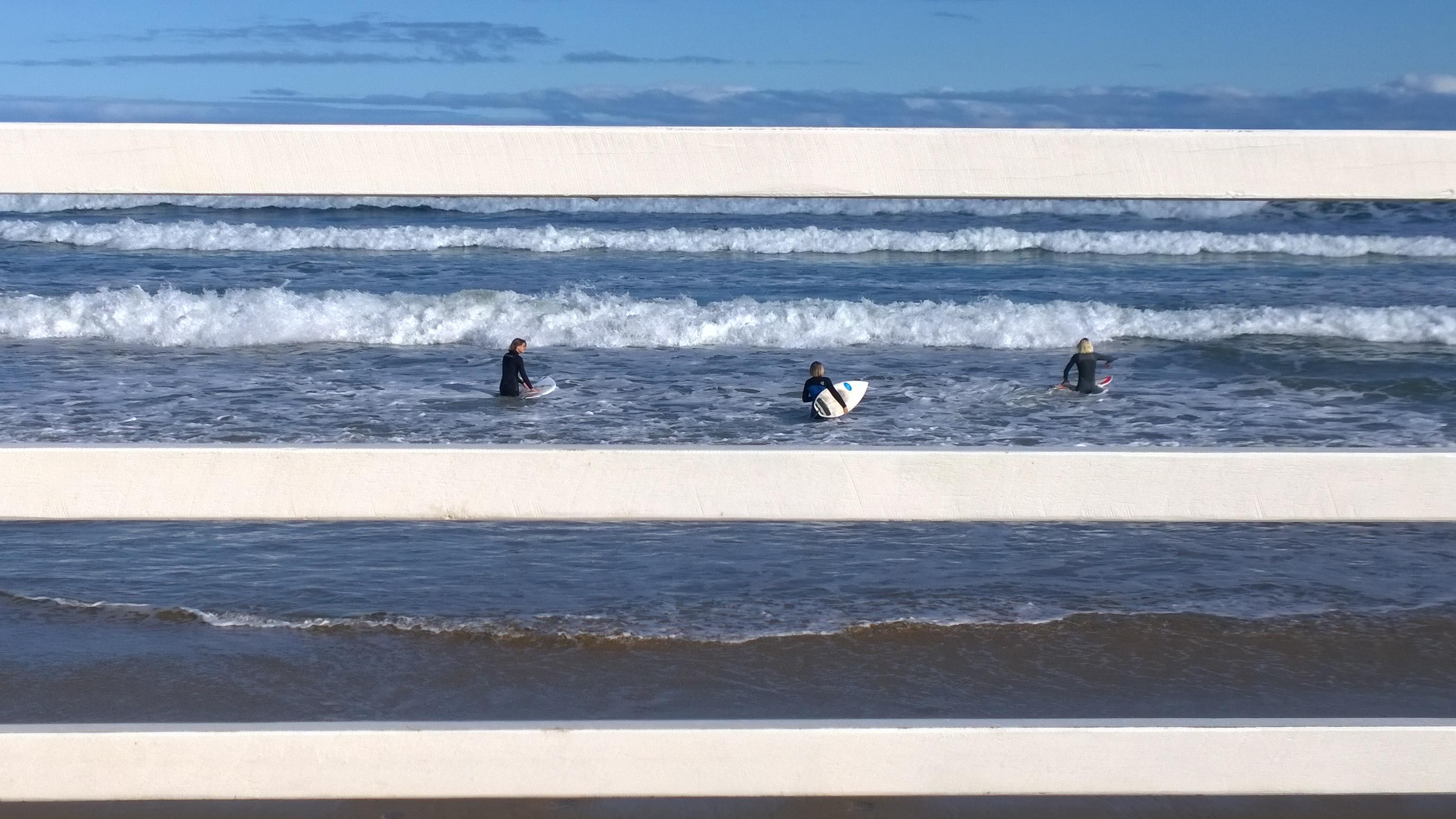 Surfers, Great Ocean Road.