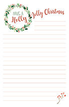 Christmas Notepad