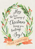 Lasting Joy Christmas Card