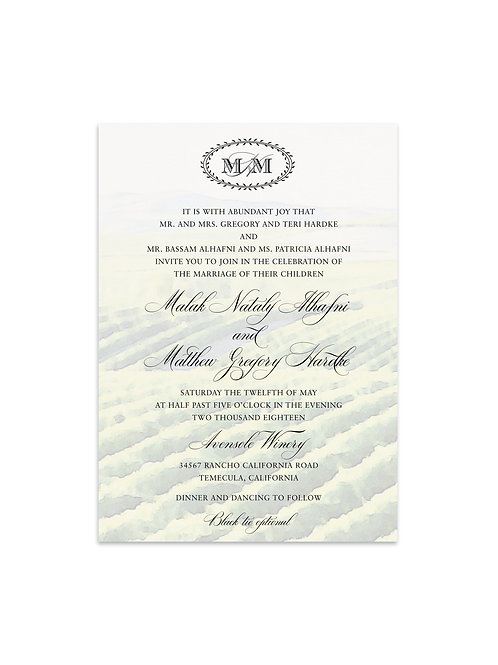 Winery Wedding Invitation Set