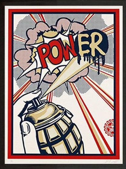 """""""Power"""" by Shepard Fairey"""