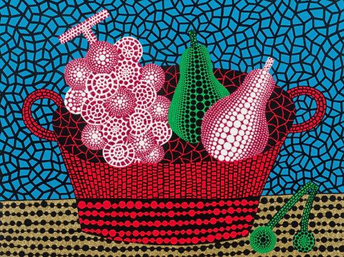 """Panier de Fruits (I)"" by Yayoi Kusama"