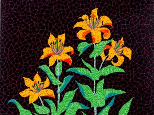 """""""Flowers"""" by Yayoi Kusama"""