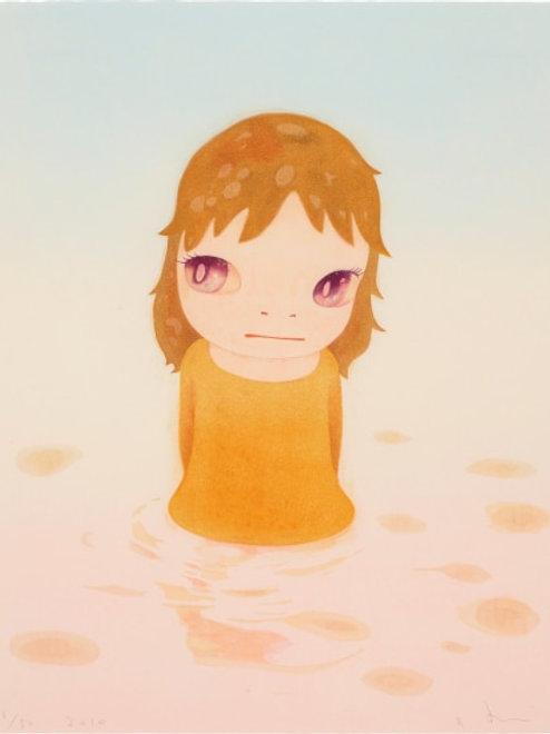 """After the Acid Rain ( Day Version)"" by Yoshitomo Nara"