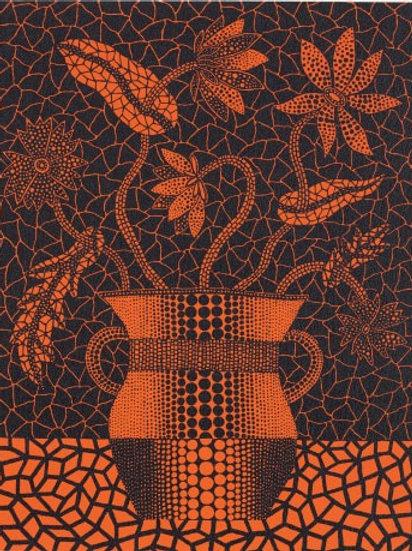 """""""Flowers (181)"""" by Yayoi Kusama"""