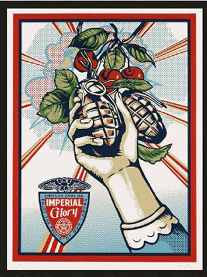 """""""Imperial Glory"""" by Shepard Fairey"""