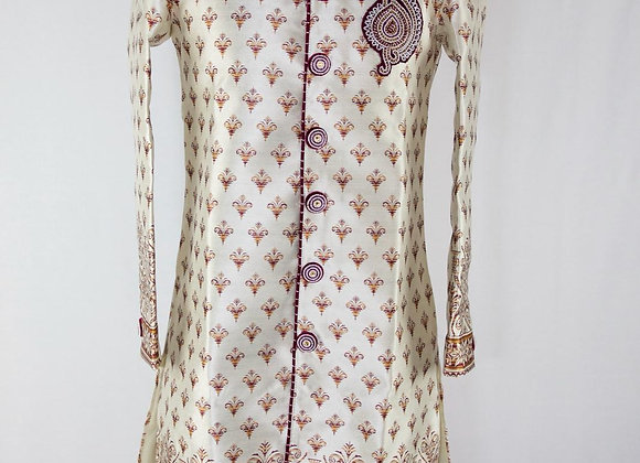 Wh Golden Mens Kurta22