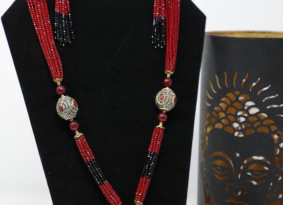 Rajputi Moti Haar Design
