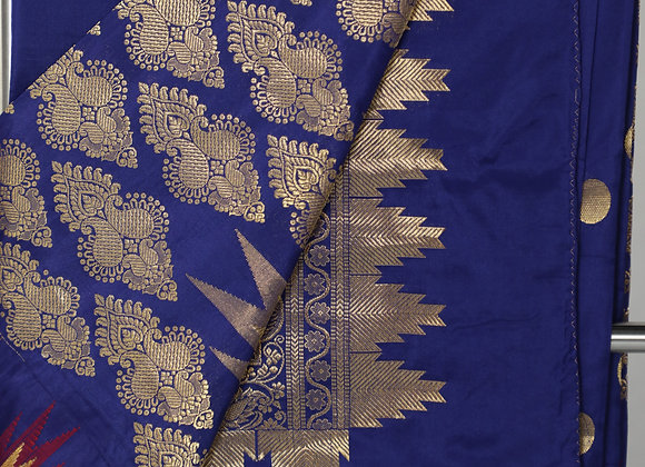 Light Blue Banarsi Saree
