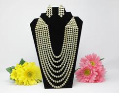 Stunning Polki Jewelry Wedding Set