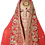 Thumbnail: Red Bridal Silk Lehenga