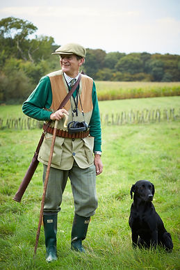 Shooting instructor John Cavendish, available for coaching on game and clay pigeon shooting