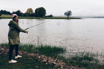 dr melissa crestani fishing