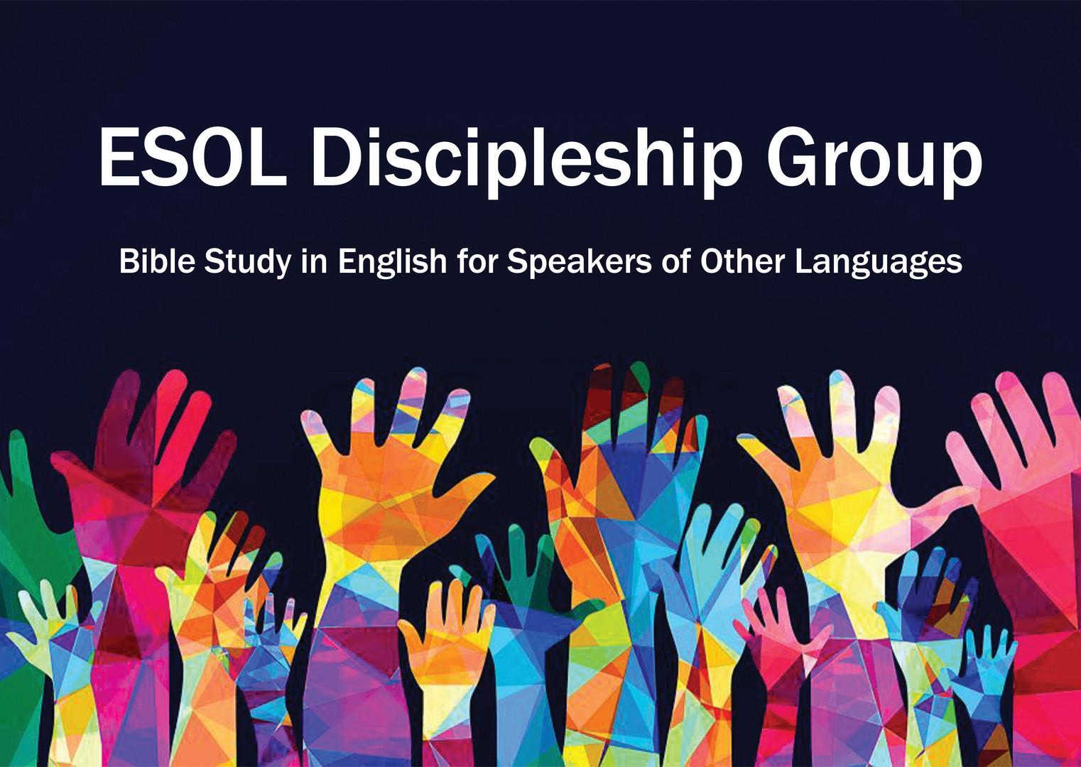 ESOL discipleship group