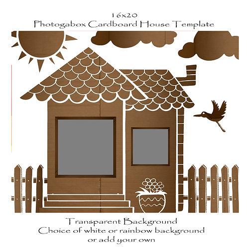 Photogabox Cardboard House 2 box