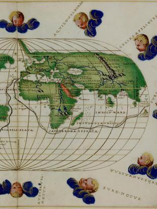 Planisferio de Battista Agnese