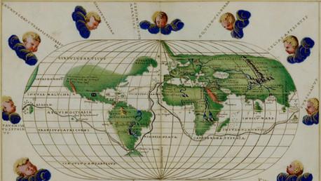 Battista Agnese Planisphere