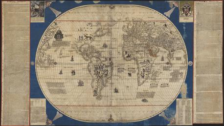 Caboto World Map