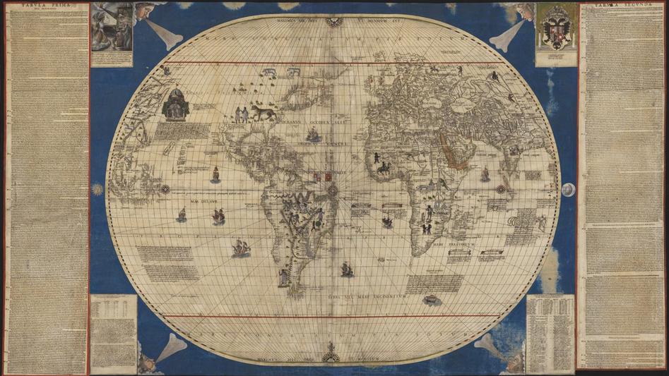 Mapamundi de Caboto