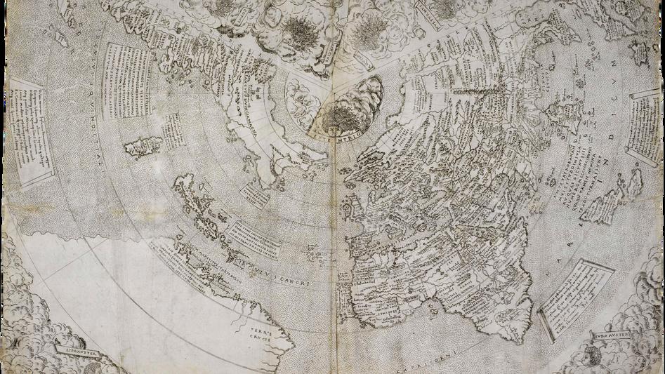 Mapamundi de Contarini
