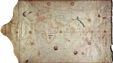 Map of King-Hamy