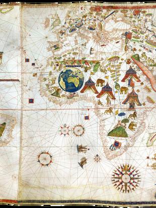 Planisferio de Maggiolo