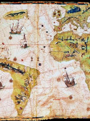 Mapa del mundo conocido