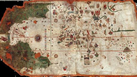 Map of Juan de La Cosa