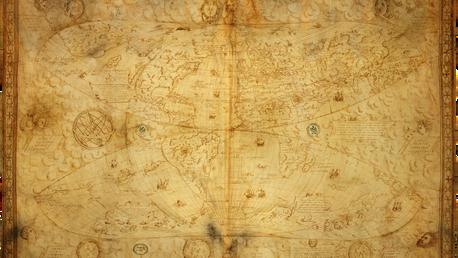 Le Testu World Map