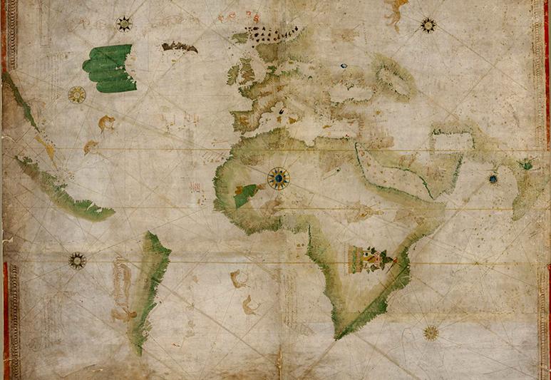 Kunstmann II o el Mapa de los cuatro dedos