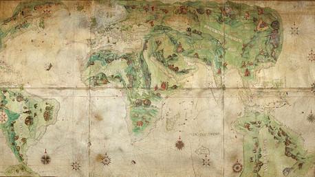 Dauphin / Harleian World Map