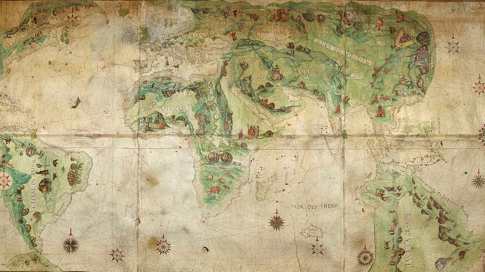 Mapamundi Dauphin / Harleian