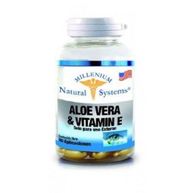 Aloe Vera y Vitamin E