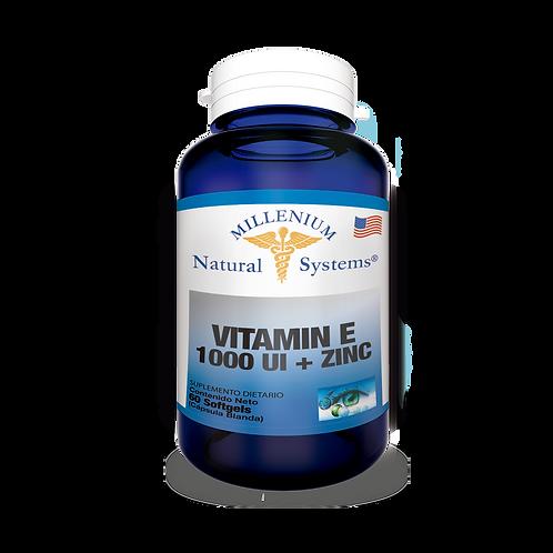 Vitamina E 1000 UI + Zinc