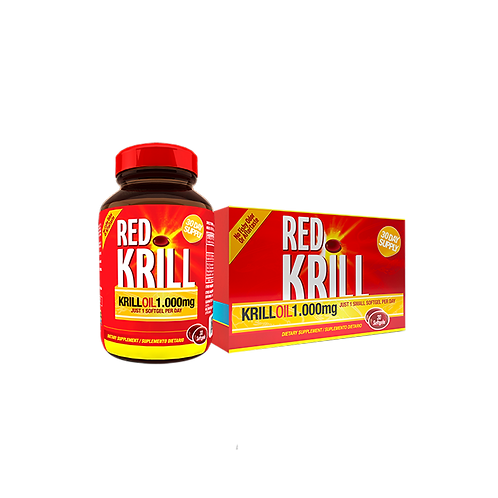 Red Krill x 30 Cap