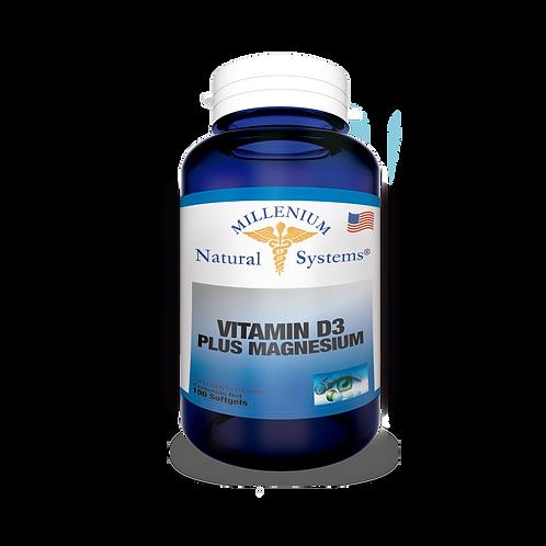 Vitamina D3 Plus Magnesium