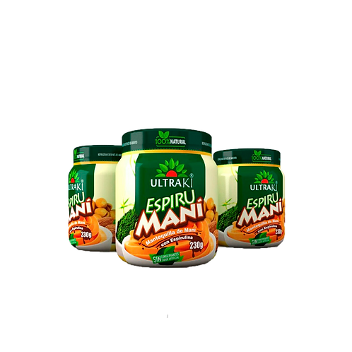 Crema De Maní Con Espirulina 230 gr