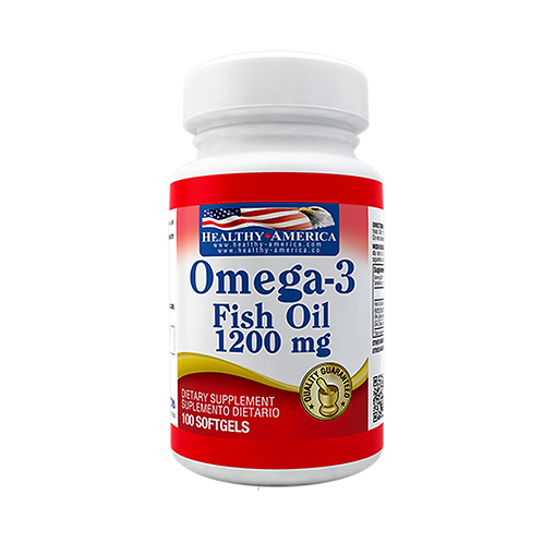 Omega-3 Fish Oil 1200 mg x 100 Cap